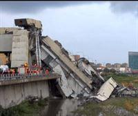 Al menos 30 muertos al derrumbarse un puente en Génova, Italia