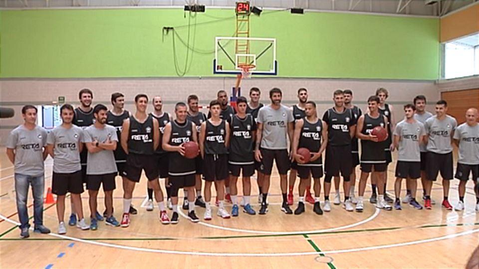 Vídeo  Primer entrenamiento de pretemporada 18 19 para el Retabet Bilbao  Basket  a01f7929a8bbf