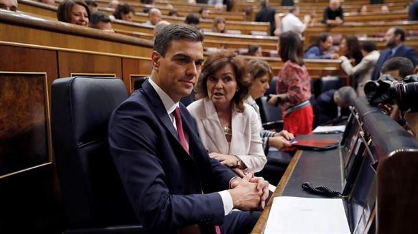 Resultado de imagen de Pedro Sánchez niega que su tesis sea un plagio y anuncia acciones legales