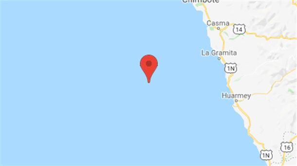 Un sismo de magnitud 5,5 sacude la costa de Perú