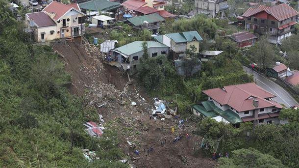 Más de medio centenar de muertos en Filipinas tras el paso del tifón 'Mangkhut'