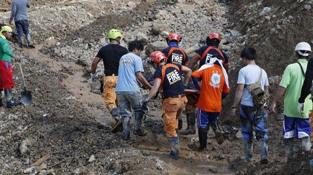 Ya son 65 los muertos tras el paso del tifón Mangkhut por Filipinas