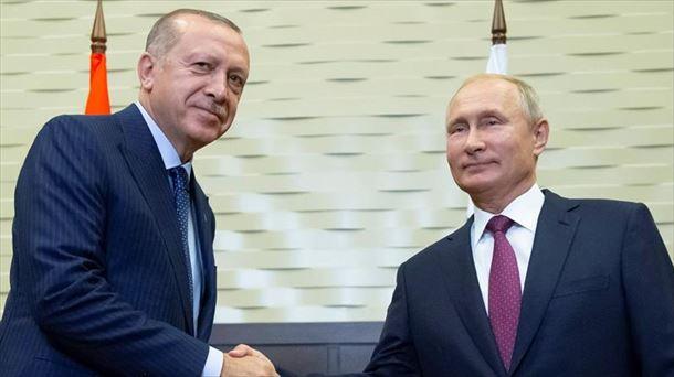 Rusia y Turquía crearán una zona desmilitarizada en la provincia siria de Idleb