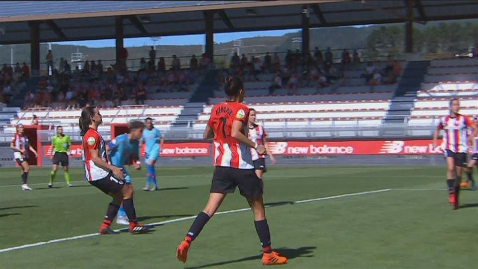 Vídeo  Los goles del Athletic - Atlético de Madrid (2-4) de la Liga  Iberdrola  35ad11059b279