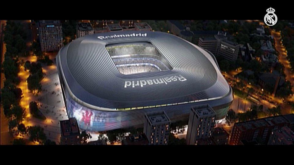 Vídeo  Así será el nuevo estadio Santiago Bernabéu  6b192b2622978