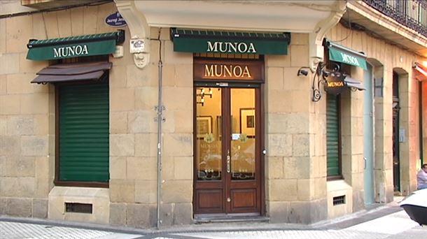 9a539ab26fc5 Robo en la joyería Munoa de San Sebastián