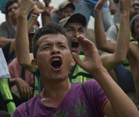 México frena la caravana de migrantes procedentes de Centroamérica