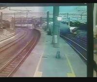 Imágenes del descarrilamiento de tren en Taiwan que ha dejado 18 muertos