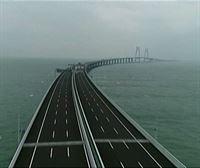 Inauguran en China el puente más largo del mundo