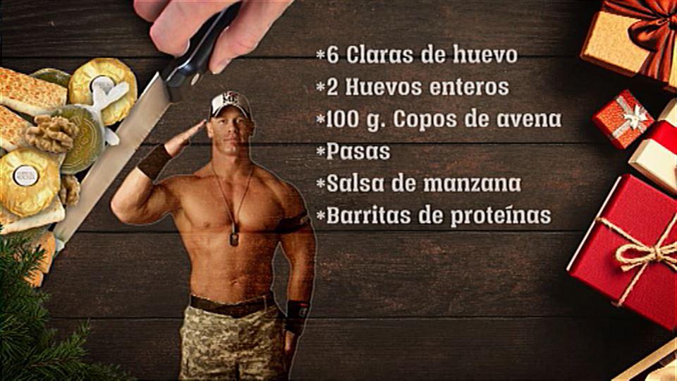 Vídeo La Dieta Especial Del Actor John Cena La Noche De