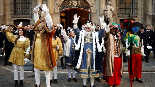 Los tres Reyes Magos estarán en el Navarra Arena el 5 de enero |  Sociedad