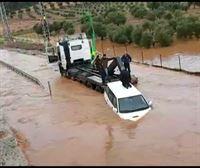 Las fuertes lluvias provocan grandes inundaciones en Israel