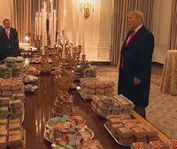 El cierre de la Administración obliga a Trump a pedir 1.000 hamburguesas