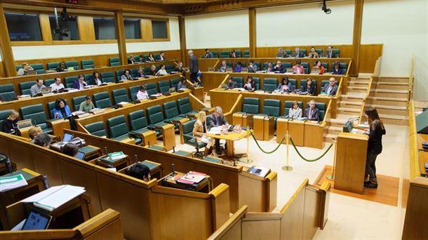 El Parlamento Vasco, en una imagen de archivo