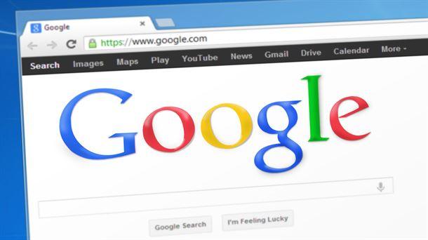 Imagen de la barra del buscador de Google