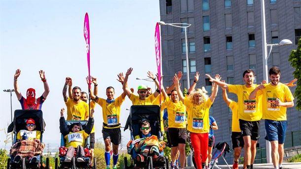 Enfermos y familiares de la Ataxia Telangiectasia ante un reto deportivo para recaudar fondos