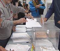 Las mesas electorales se han constituido con normalidad a primera hora