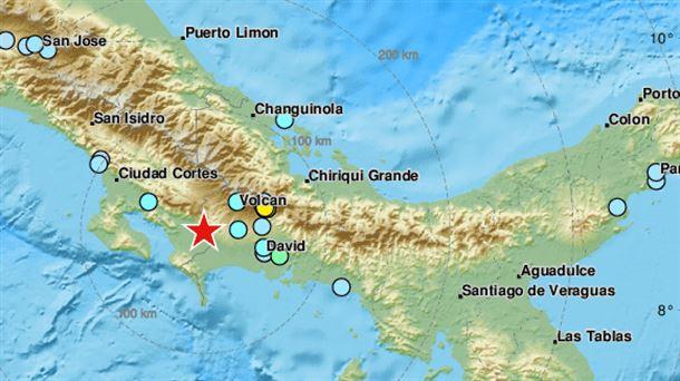 Un terremoto de magnitud 6,1 sacude Costa Rica, 12 mayo 2019.