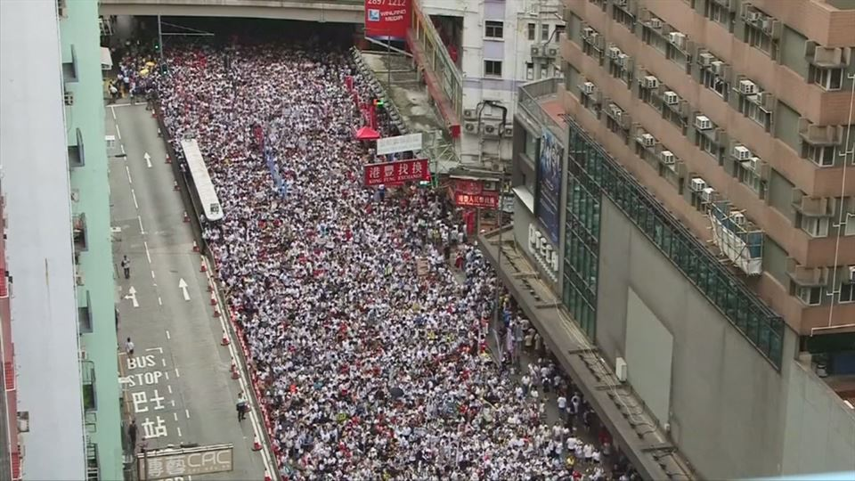 Resultado de imagen para protestas hong