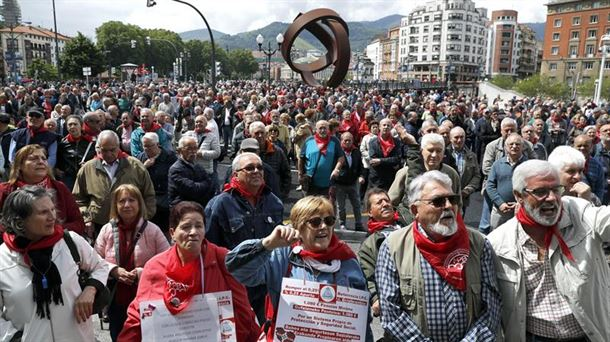 La huelga general de sindicatos y pensionistas vascos será el 30 de enero