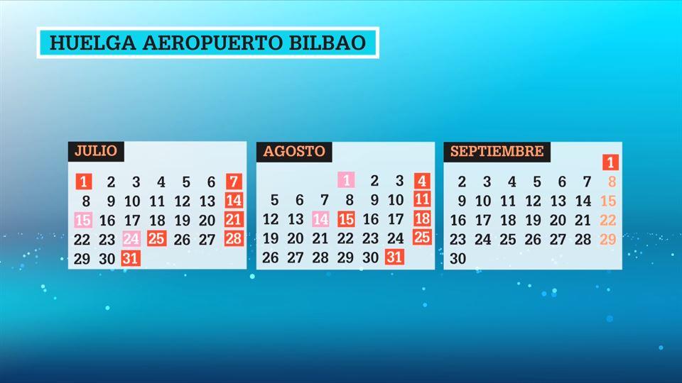Calendario Julio 1976.Calendario De Huelgas Previstas Este Verano 2019 En El