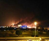 EE UU muestra fotos de satélite para culpar a Irán del ataque en Arabia Saudí