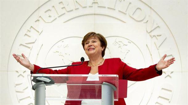 Kristalina Georgieva, nueva directora gerente del FMI. Foto: EFE