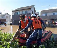 Al menos 24 muertos por el paso del tifón Hagibis por Japón