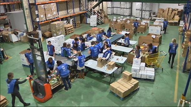 La 'gran recogida' de alimentos se realizará del 16 al 21 de noviembre en Gipuzkoa
