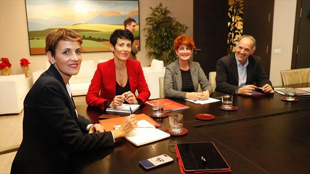 Vídeo: Gobierno de Navarra y EH Bildu llegan a un acuerdo sobre presupuestos |  Política