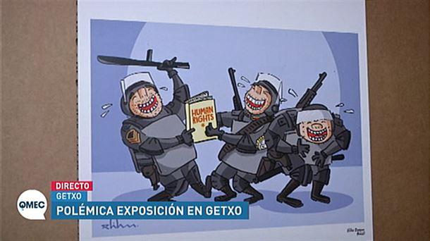 ERNE pide que se retire una viñeta sobre policía y tortura en Getxo