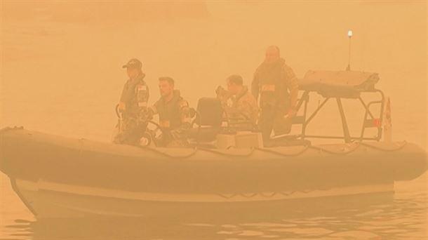 Resultado de imagen para humo causado por los fuegos en Australia podría dar la vuelta al mundo