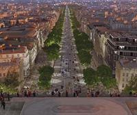 París prepara un innovador proyecto para reformar la avenida de los Campos Elíseos