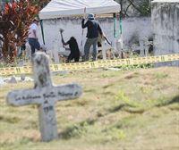 Encuentran en Colombia otros 37 cuerpos dentro de una fosa común, entre ellos dos niños