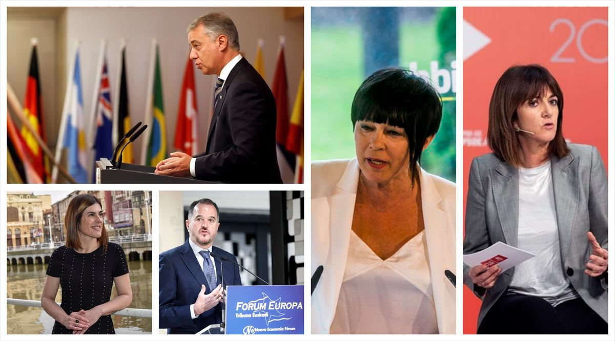 Las candidaturas de los partidos en las elecciones vascas del 12 ...