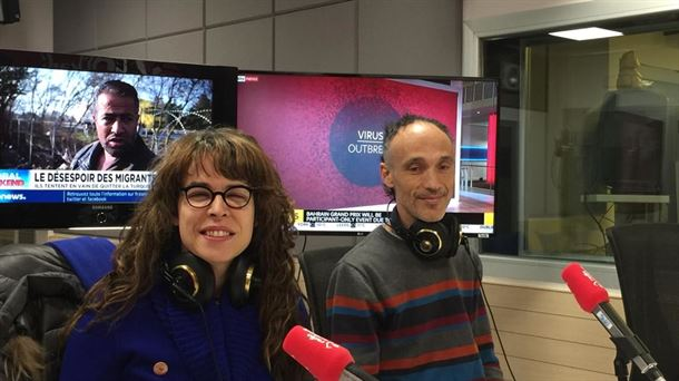 Aitzole Araneta y Juanma Feito nos han acompañado en estudios