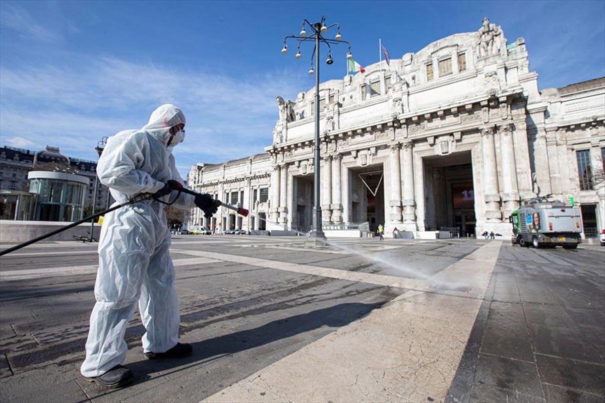 Coronavirus COVID-19 en Italia: Balance de muertos y positivos, 26 ...
