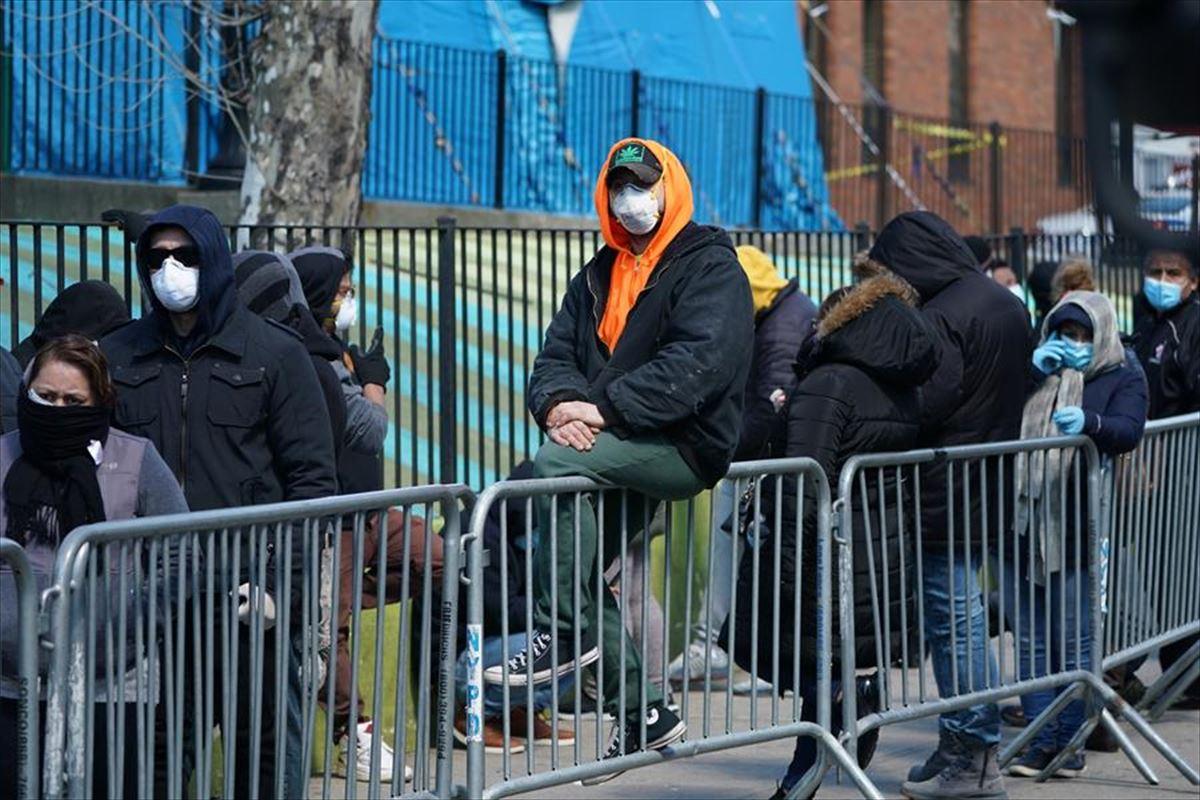 En EE.UU. más de 44.000 personas han contraído el coronavirus, según fuentes oficiales. Foto: Efe.