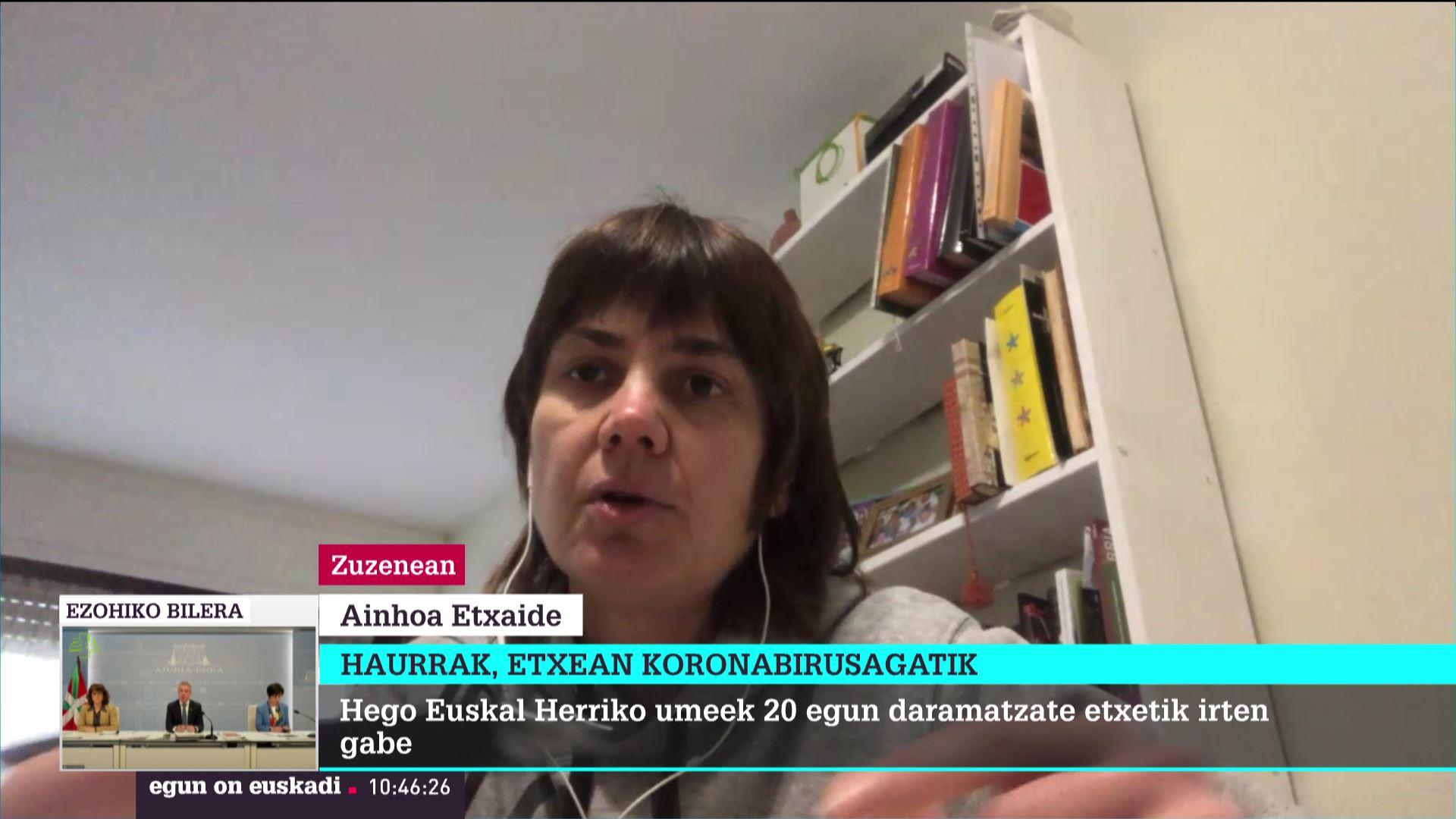 Ainoha Video Porno bideo koronabirusa: ainhoa etxaide, lab, bere semeen