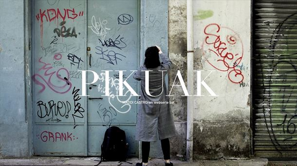 Careta de inicio de la webserie ''Pikuak''