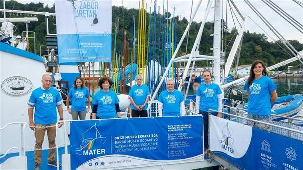 A campanha Zero Zabor Uretan vai desembarcar neste verão em diferentes portos da Costa Basca.