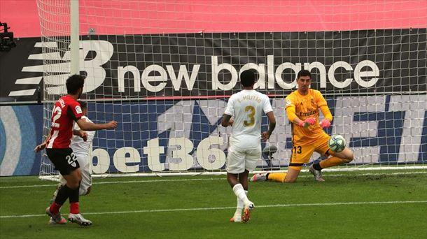 Victoria del Real Madrid ante el Athletic Club (0-1) para reforzar ...