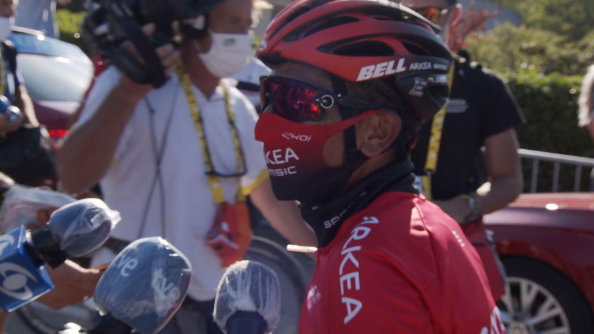 Hacer la vida Nueva llegada Poner la mesa  Vídeo: Declaraciones de Nairo Quintana tras la etapa 5 del Tour de Francia  2020 | Ciclismo | EiTB