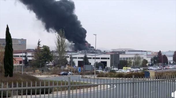 Fallece el trabajador herido con quemaduras graves de la empresa química de Oyón