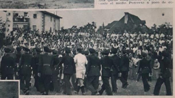 Bronco Osasuna-Sevilla 1935, semifinal de la Copa de la República