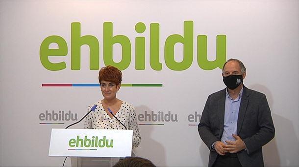 EH Bildu subraya el valor político del acuerdo presupuestario de Navarra |  Política
