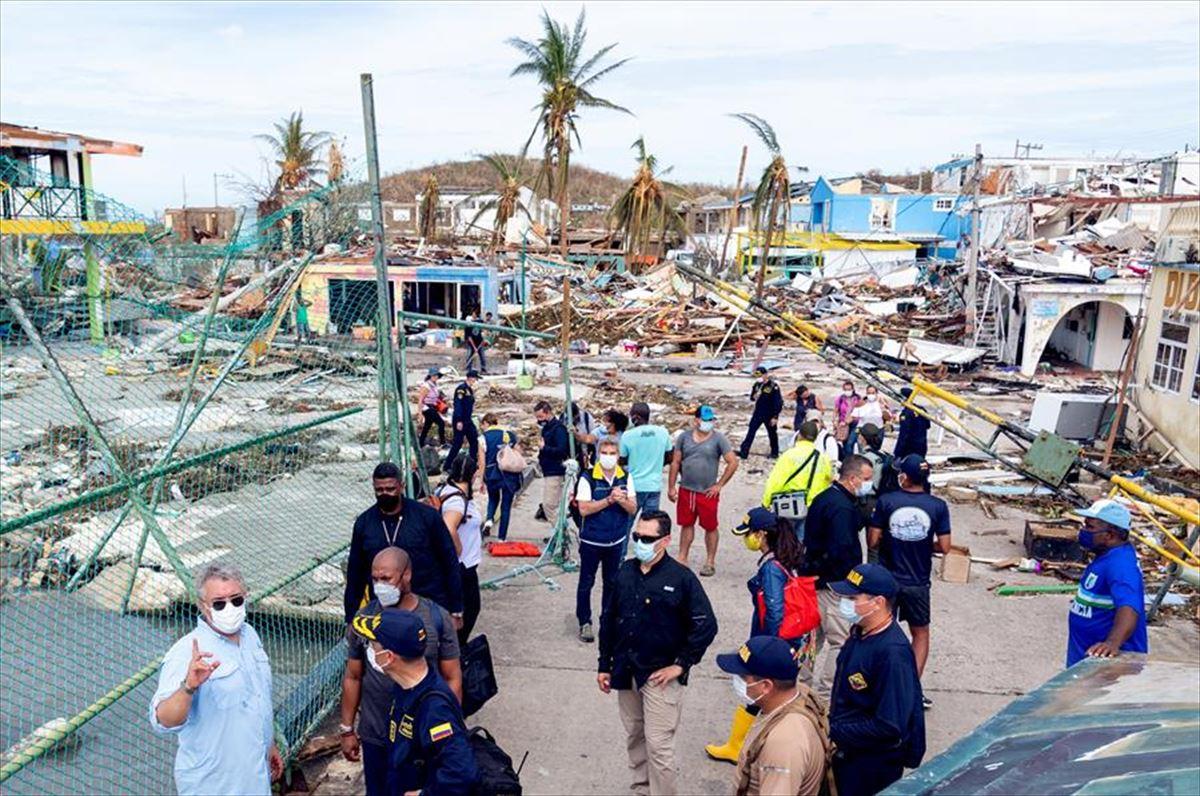 Vídeo: El huracán Iota arrasa la isla colombiana de Providencia | Noticias  del mundo | EiTB
