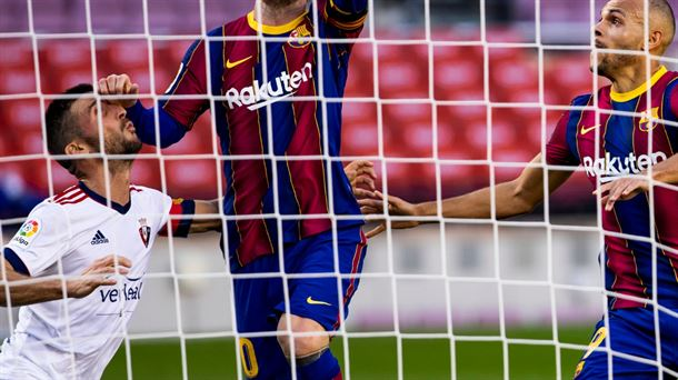 La polémica por el primer gol del Barça