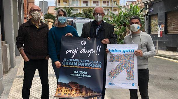 Rallies Call Prisoners, Sare y Bake Bidea, 9 de enero de 2021 |  Política