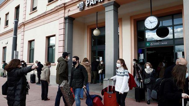 Navarra refuerza las medidas de covid de Año Nuevo |  Sociedad